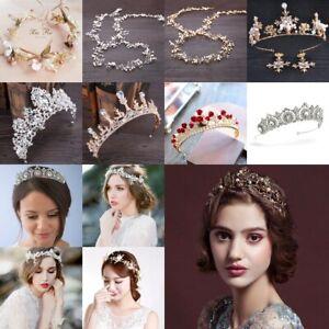 Fashion-Bridal-Wedding-Prom-Bridesmaid-Flower-Crystal-Headband-Tiara-Jewelry