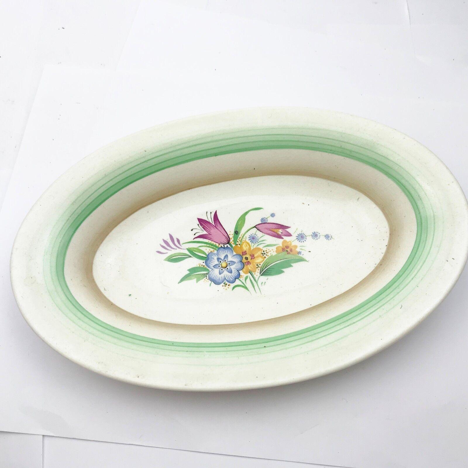 VINTAGE MIDWINTER PORCELON POTTERY ART DECO SERVING DISH VEG TABLEWARE