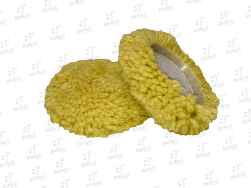 "Mini Wool Buffing Pad 3.5/""//Cutting//Polishing//Finishing 1 Unit"