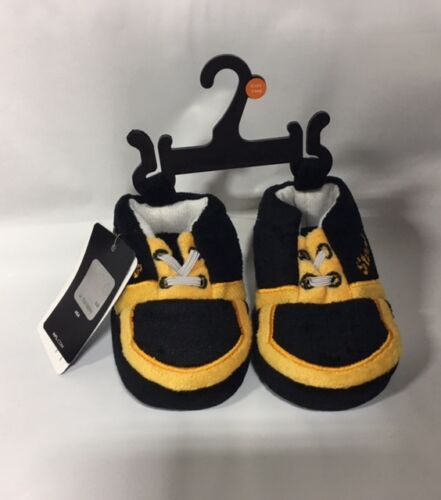 Pittsburgh Steelers Sneaker Baby Booties Slippers NEW Infant Shoe Newborn Shower