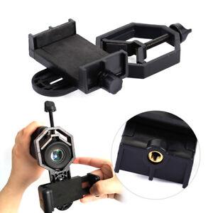 Mobil-Cell-Phone-Mount-Holder-Binocular-Monocular-Spotting-Scope-Telescope-Clamp
