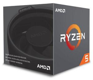 AMD Ryzen 5 2600-3.9 GHz 12 threads 19 MB cache Socket AM4 retail 6-core