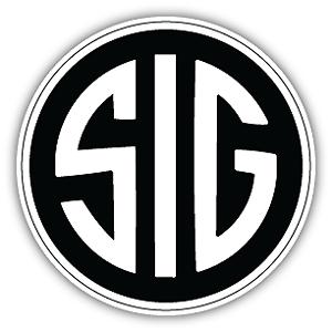 Sig Sauer Firearms Gun Rifle Pistol Bullet Vinyl Sticker Decal Bumper Window