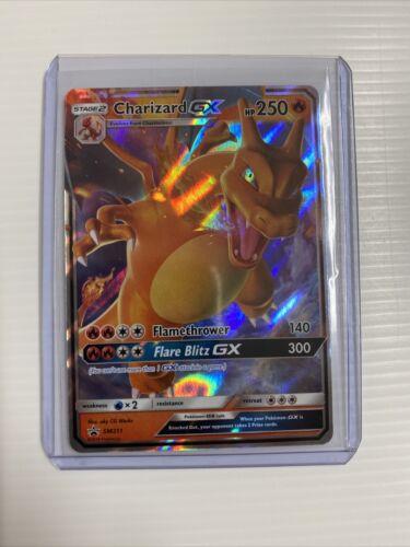 Pokemon Hidden Fates Charizard GX SM211 Ultra Rare Holo Black Star Promo NM