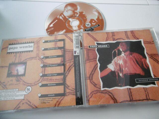PAPA WEMBA : KERSHAW SESSIONS CD ANNAH MATINDA BOKULAKA 1994 BBC STRANGE ROOTS