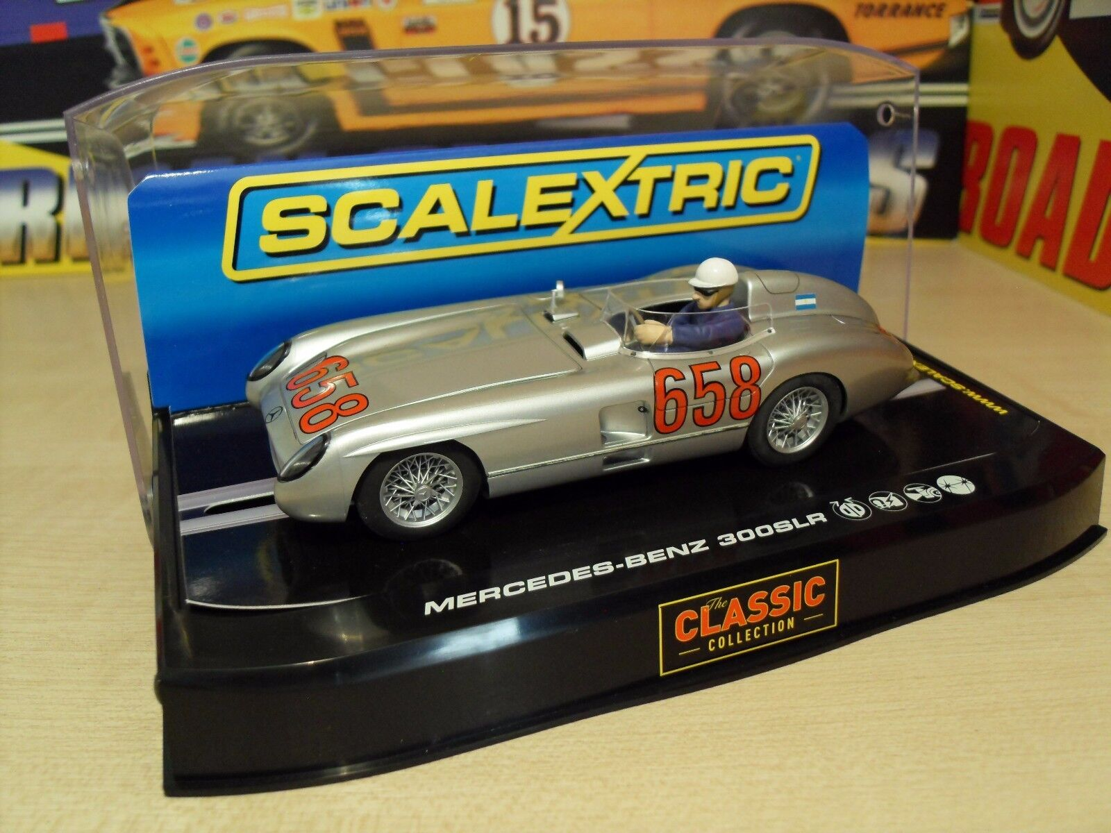 Scalextric C2814 Mercedes Benz 300SLR - '1955 Mille Miglia' - Brand New in Box.