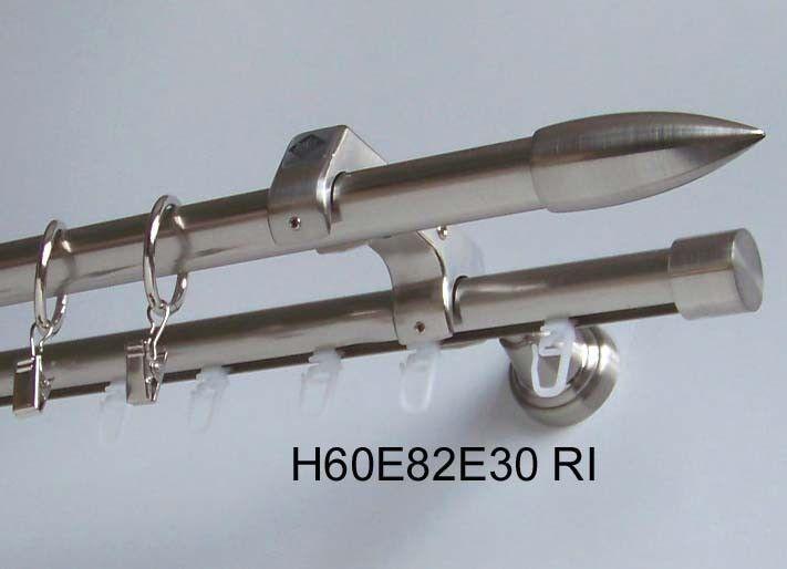 Rohr + Innenlauf Gardinenstange Edelstahl Look 20mm oder Zusatzlauf Zusatzlauf Zusatzlauf Design E82 | Online Shop Europe  1ca595