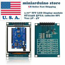 177 Inch 18 Tft Color Display Module Breakout Spi St7735s For Arduino Uno Lcd