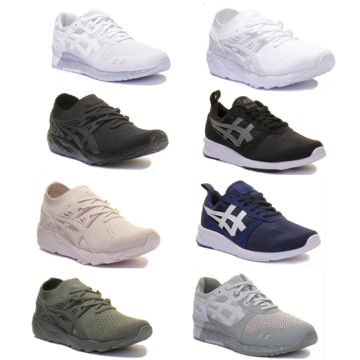 Asics Gel Lyte III 3 NO STICH Pack Trainers Comfortable New shoes for men and women, limited time discount