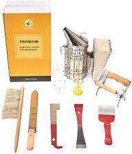 9pcs Beekeeping Equipment Tool Bee Hive Smoker Queen Catcher Beehive Supplies