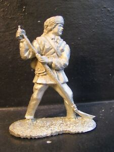 54MM  RECAST  COLONIAL ERA FRENCH & INDIAN WAR FRONTIERSMAN #8