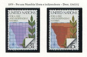 19150) UNITED NATIONS (New York) 1979 MNH** Namibia