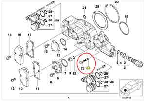 Genuine Bmw E36 M3 Vanos Filter Amp Seals Kit Uk Ebay