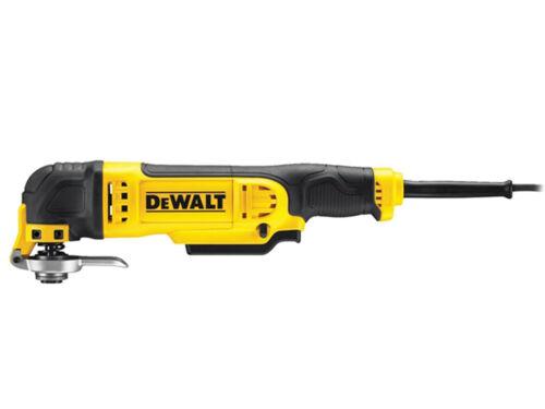 DeWalt DWE315KT 240v Herramienta Oscilante Multi Con Cable En Caja TSTAK 37 Accesorios