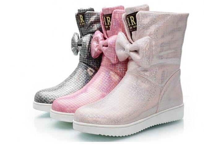 Botines botas botas botas zapatos de tacón mujer 2.5 cm mode como piel cómodo 9010  edición limitada en caliente