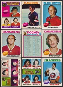 1975-76-O-Pee-Chee-Complete-Your-Set-Cards-201-394-see-list