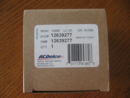 NEW ACDelco Genuine GM OEM Original Equipment 12639277 Water Fuel Sensor