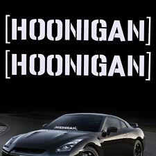 HOONIGAN Funny Sticker Decal Auto Car Truck SUV Windshield Window Bumper Accesso