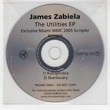 (GJ574) James Zabiela, The Utilities EP - 2005 DJ CD