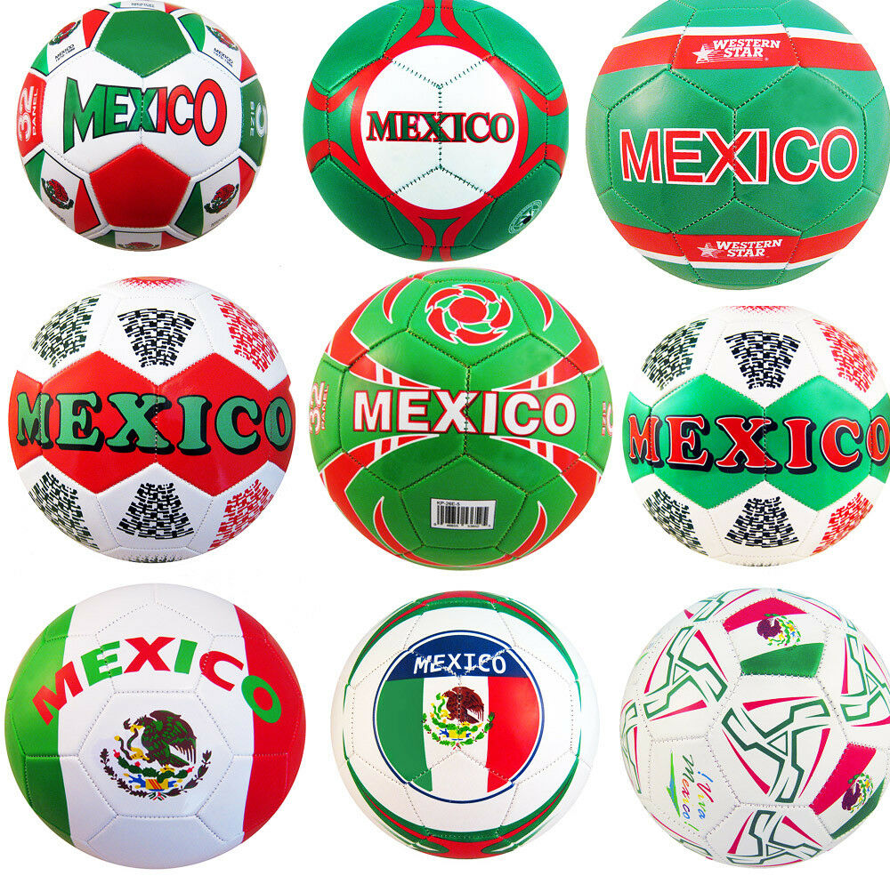 Official Size 5 Licensed Mexico Soccer Ball Assorted (Lot of 12)
