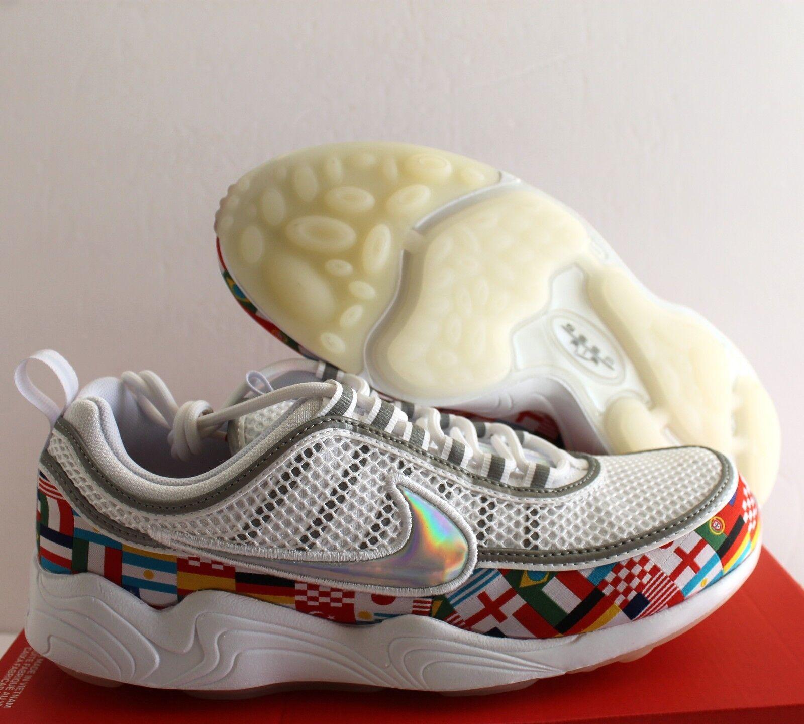 Nike Air Zoom Spiridon 16 NIC World Cup International Flag SZ 8.5