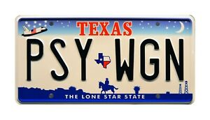 Kill-Bill-Volume-1-The-Bride-039-s-Pussy-Wagon-Metal-Stamped-Prop-License-Plate