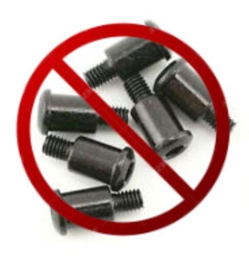 kyo012 Stainless Steel Screw Kit Vintage//#30618B RCScrewZ Kyosho Javelin