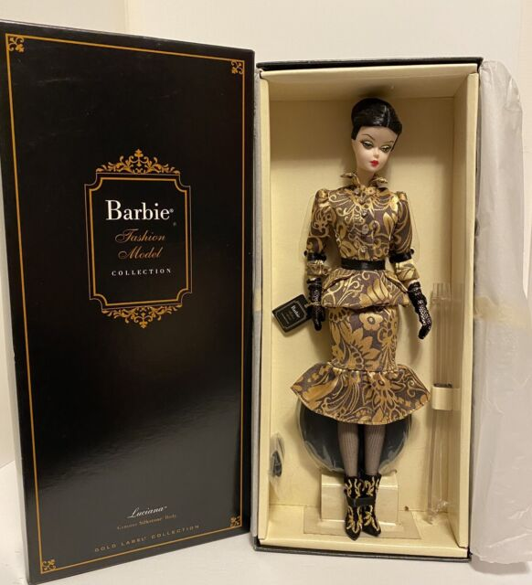 Barbie Collector BFMC Luciana Silkstone Doll - Gold Label