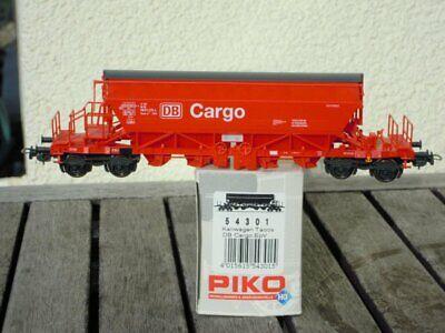 Piko 54301 H0 Carrello Kali Taoos-y Della Db Cargo Epoca 5/6 Merce Nuova In Scatola Originale-mostra Il Titolo Originale Imballaggio Di Marca Nominata