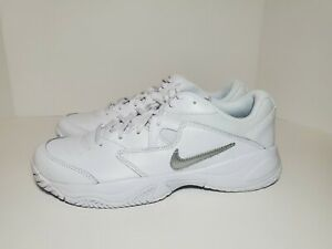 Womens Nike Court Lite 2 Athletic Tennis Shoes White #AR8838-101 Size 10 DS