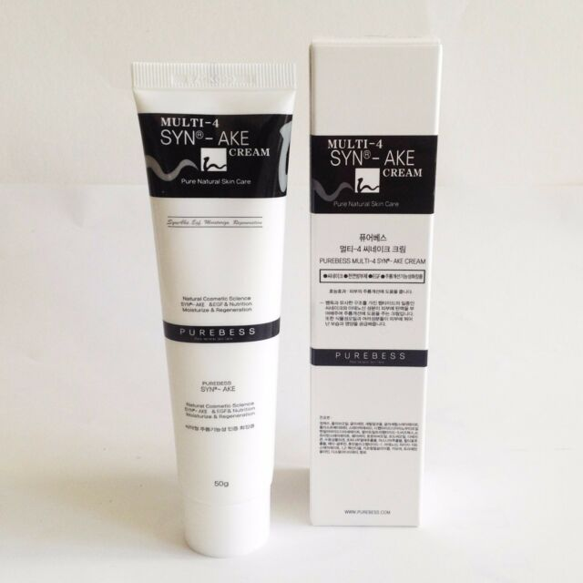50g Purebess Syn-Ake Cream Wrinkle Care synake Moisturize eyes, neck, Face Care