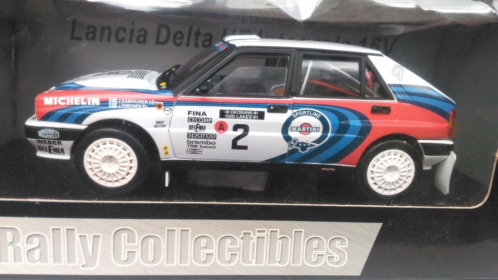 Lancia Delta HF intégrale 16 V 1991 Sunstar 1 18 1991 - Rallye des 1000 lacs