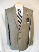 Chaps Polyester Black Plaid & Checks Size 42 L Suit Two Button Coat Sr $220