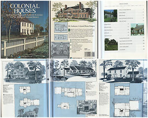 Details about HOME PLANNERS COLONIAL HOUSES 161 CLIC HOUSE PLANS EARLY on engine shed floor plans, railroad depot floor plans, trailer house floor plans, locomotive house plans, ho locomotive shed floor plans, railroad section house floor plans,