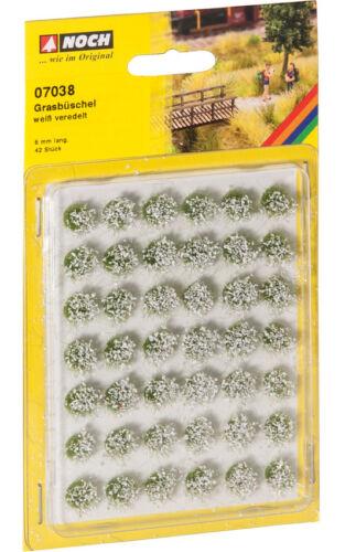 """Encore 07038 Grasbüschel Mini-set /""""floraison/"""" Blanc #neu dans neuf dans sa boîte #"""