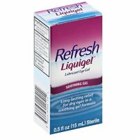 5 Pack - Refresh Liquigel Lubricant Eye Gel 0.5 Fl Oz (15 Ml) Each on sale