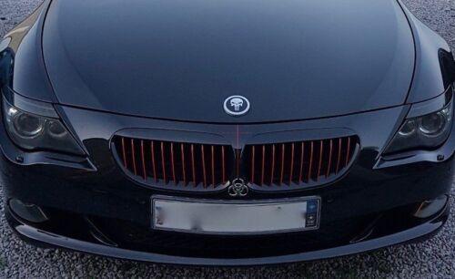 NUEVO Punisher se Ajusta BMW Capó Emblema coche insignia de reemplazo no incluye el logotipo de BMW