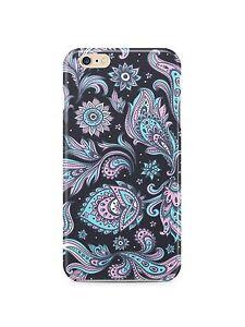 Iphone-4s-5-5s-5c-6-7-8-X-XS-Max-XR-Plus-Case-Floral-Vintage-Skin-Beauty-Retro