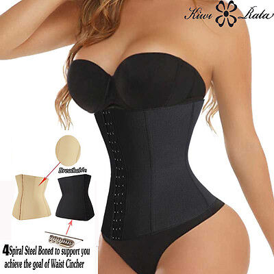 Belly Band Corset Waist Trainer Cincher Contral Body Shaper Underbust Corset #67