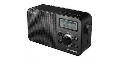 Sony XDR-S60DBP Retro design Radio with DAB/DAB+/FM tuner In Black