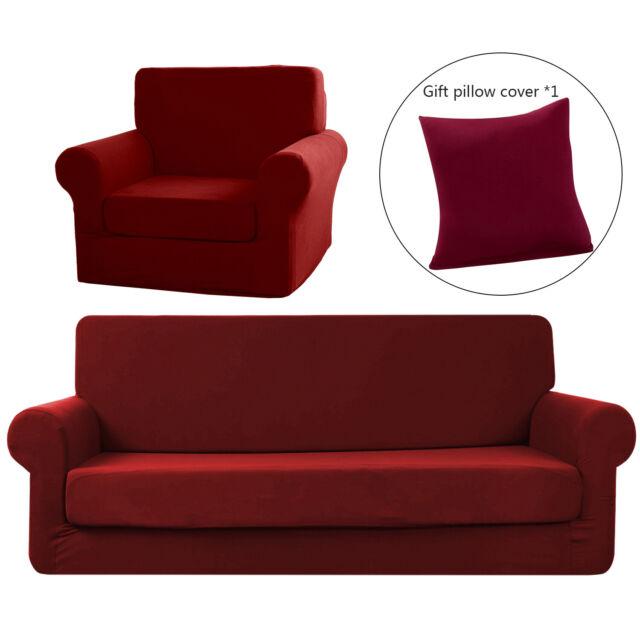 Stretch Micro Fiber Sofa Slipcover 2