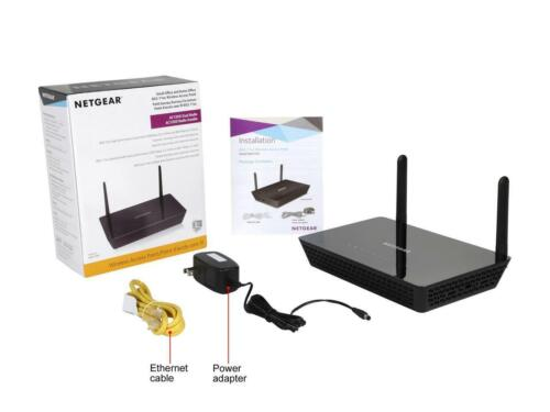 NETGEAR WAC104 Dual Band Wireless AC1200 Access Point for Small Business