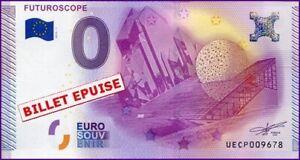 Aimable Ue Cp-1a / Futuroscope / Billet Souvenir 0 Euro / 2015-1