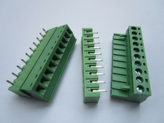 250 V 31020102 10 A Terminal Block 5 mm Pack of 75 2 Positions Header 31020102 Through Hole Vertical-31020102