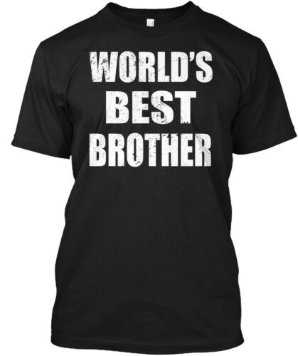Worlds Best Brother Gifts World/'s Hanes Tagless Tee T-Shirt