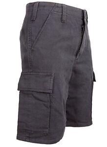 Pantaloni-Corti-Moleskin-5-Tasche-Bermuda-Militare-100-Cotone-Stonewashed