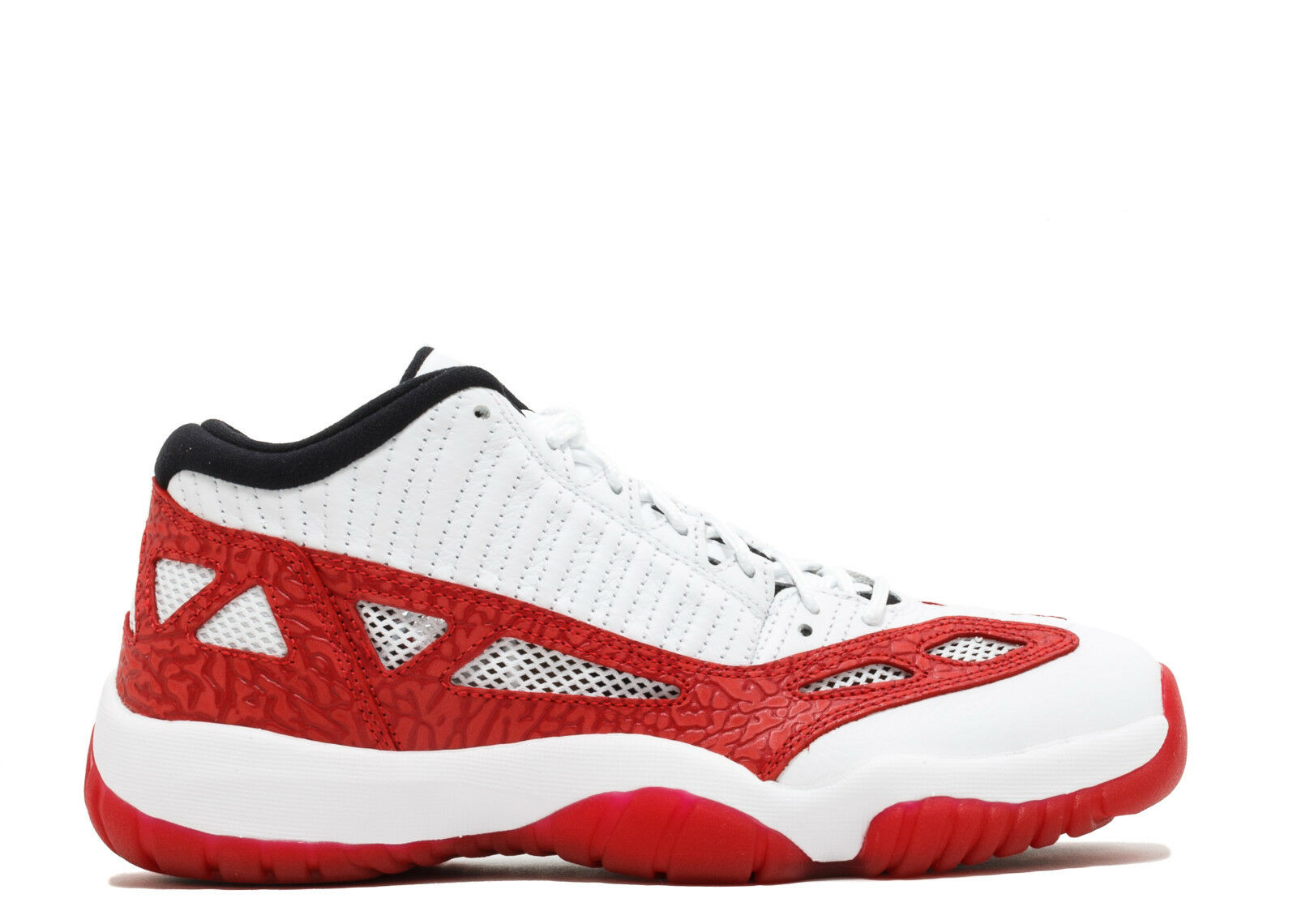 SALE Air Jordan Retro 11 Low IE White Gym Red Black 919172-101
