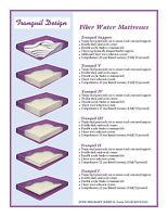 Tranquil 60% - 99% Waveless Waterbed Mattress Bundles