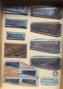 VINTAGE-1950s-ON-MECCANO-HORNBY-PRINTING-BLOCKS-PLATES-COACHES-ENGINE-SHED-10