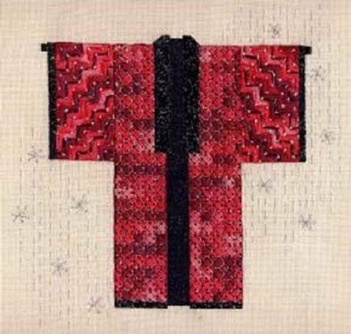 Kimono Collection Canvaswork Needlepoint Pattern-Your Choice-Laura Perin Designs